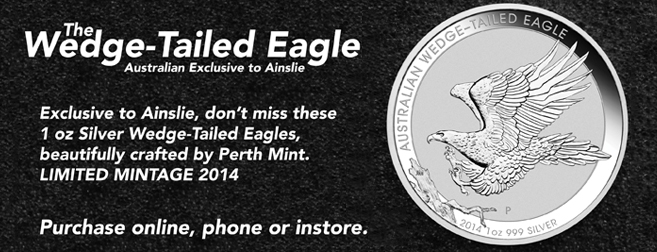 Ainslie Releases the Wedge-Tailed Eagle