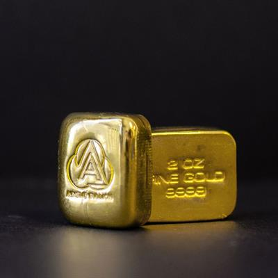 2oz Ainslie Gold Bullion
