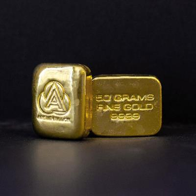 50g Ainslie Gold Bullion