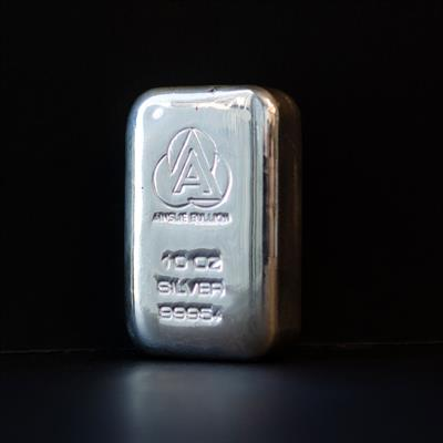 10 oz Ainslie Silver Bullion