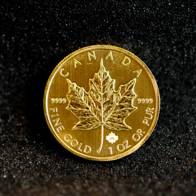 1oz Maple Leaf Gold Coin