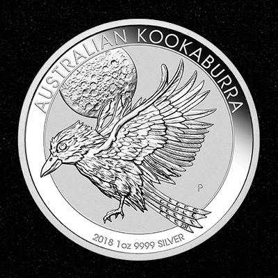 1oz Silver Coin 2018 Kookaburra - Perth Mint