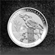 1oz Silver Coin 2016 Kooka w Monkey Privy Perth Mint