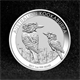 100x 1oz Silver Coin 2017 Kookaburra - Perth Mint