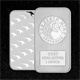 1oz Kangaroo Minted Silver Bar - Perth Mint