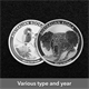 100x 1oz Silver Coin -var coins, var yrs - Perth Mint