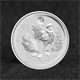 100x 1oz Silver Coin 2017 Rooster w Lion Privy - Perth Mint