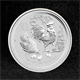 1/2oz Silver Coin 2017 Year of Rooster Perth Mint